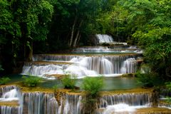 Troipcal waterfall Stock Photos