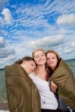 Trois amies mignonnes Photographie stock libre de droits