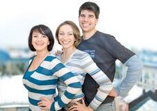 Trois amis 4 Image libre de droits