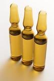 Trois ampoules Image stock