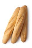 Trois baguettes courtes Images stock