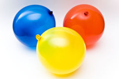 Trois ballons Photographie stock libre de droits