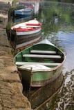 Trois bateaux Photo libre de droits