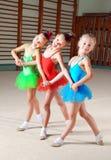 Trois beaux danseurs classiques Photo stock