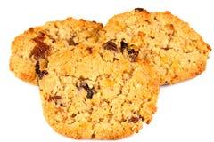 Trois biscuits Photographie stock libre de droits