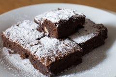 Trois biscuits de chocolat Photo libre de droits