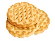 Trois biscuits de sablé Image libre de droits