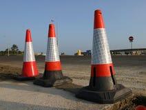 Trois cônes image libre de droits