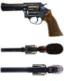 Trois canons pour le prix d'un Photo stock