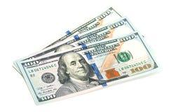 Trois cents billets d'un dollar Images stock