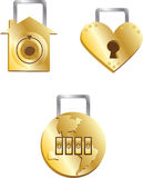 Trois choses toujours intéressant la protection Image libre de droits
