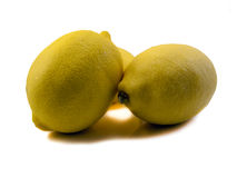 Trois citrons Image stock