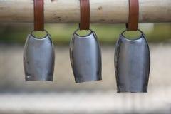 Trois cloches Image libre de droits