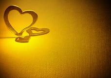 Trois coeurs. Image libre de droits