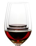 Trois couleurs de vin Images libres de droits