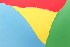 Trois couleurs, vert, jaune, bleu photos libres de droits