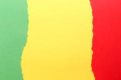 Trois couleurs, vert, jaune, rouge photos libres de droits