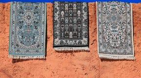 Couvertures marocaines Photographie stock libre de droits