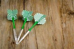 Trois dards de flèches Image stock