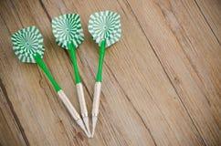 Trois dards de flèches Image libre de droits