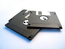 Trois disques souples Photo stock