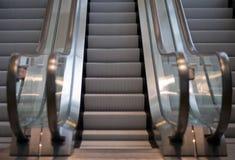 Trois escalators Photographie stock libre de droits