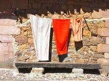 trois essuie-main Image libre de droits