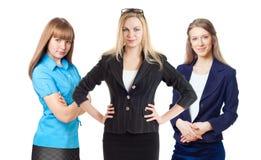 Trois femmes d'affaires Images libres de droits