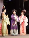 Trois femmes, distillateurs jinyuliangyuan d'opéra taiwanais photos libres de droits