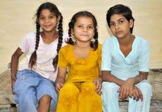 Trois filles Images stock