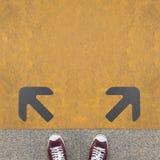 Trois flèches Image libre de droits