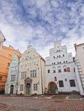 Trois frères à Riga, Lettonie Images libres de droits