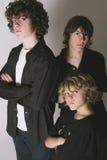 Trois frères photographie stock libre de droits