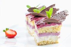 Trois gâteaux Photographie stock libre de droits