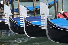 Trois gondole Ferro Photographie stock
