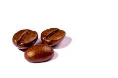 Trois grains de café Images stock