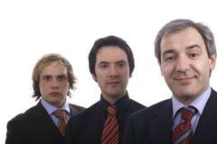 Trois hommes Images libres de droits