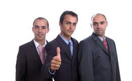 Trois hommes d'affaires Photographie stock libre de droits