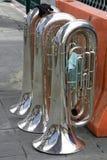 Trois instruments Photographie stock