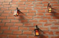 Trois lampes Image libre de droits
