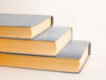 Trois livres Photographie stock