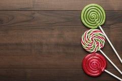 Trois lucettes colorées Photos libres de droits