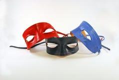 Trois masques Images libres de droits