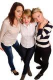 Trois meilleurs amis Images libres de droits
