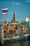 Trois moines Image libre de droits