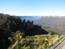 Trois montagnes bleues Sydney NSW de soeurs images libres de droits