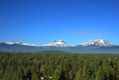Trois montagnes de soeurs Image stock