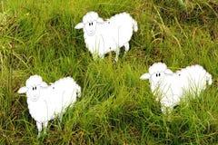 Trois moutons Image libre de droits