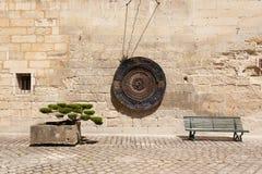 Trois objets dans la rue Photo libre de droits