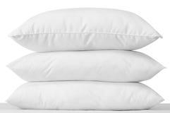 Trois oreillers. Photos stock